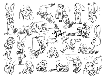 A Lot of Judies by joaoppereiraus