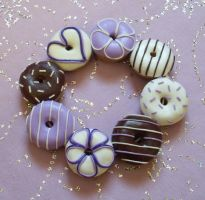 Lavender love doughnuts... by PORGEcreations