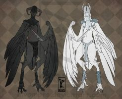 Chess Harpies: Pawn [Closed] by Aivomata