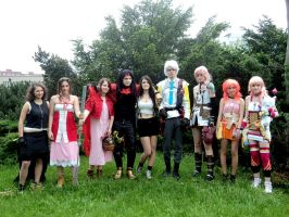 Final Fantasy CZ cosplay group by ladylucienne