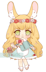 Adopt Auction - Flora [CLOSED] by nuenie