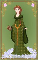 Queen Elinor from Brave by Astrogirl500
