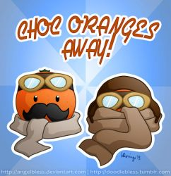 Choc Oranges Away! by AngelBless