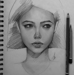 Pencil sketch by trungbui42