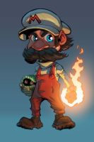 Mario Color by mikebowden