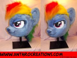 RD Head Pony Fursuit Head by AtalontheDeer
