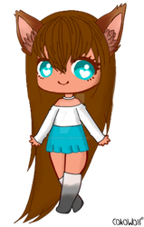Coko Official OC by CokoWolf