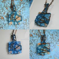 Copper River - Beaded Necklace by DanielleDucrest