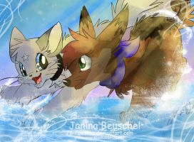Water-running by JB-Pawstep