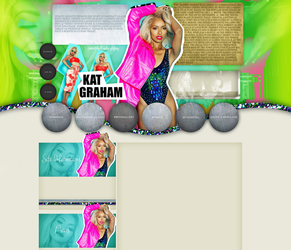 Kat Graham layout 1 by VelvetHorse