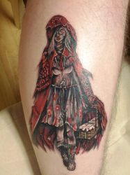 Red Riding Hood Tattoo by nyvz