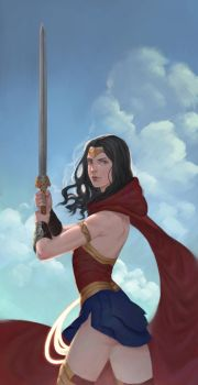 Diana of Themyscira by erickefata