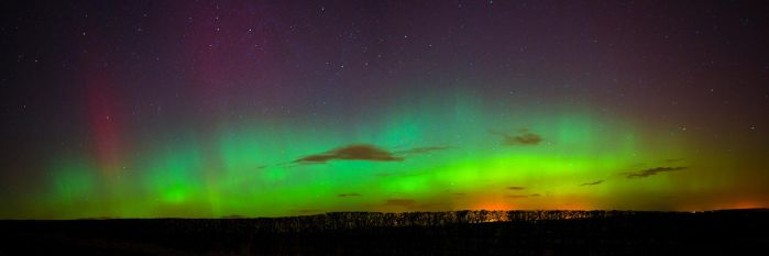 Aurora Borealis (northern lights) by newcastlemale