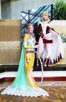 Terra Branford  and Celes Chere II by EnchantedCupcake