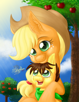 AJ and AF. AT Skittle141 by UniSoLeiL