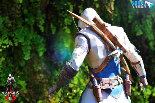 Connor Kenway - Assassin's Creed 3 Papercraft by suraj281191