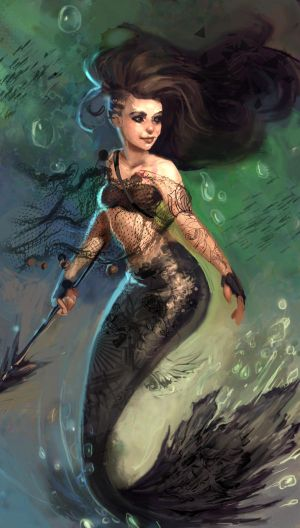 Badass Mermaid PALINA by MaxDaily