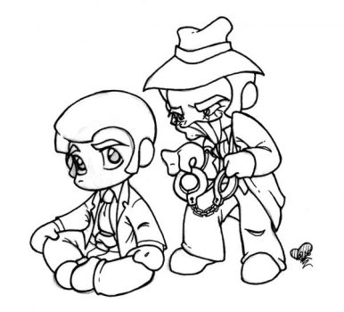 :lines: LZ Chibis by worm-baby