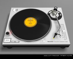 Technics 1200 front by juntao