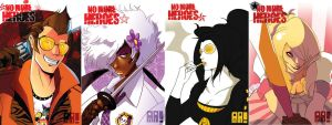 There are no more heroes by JocelynAda