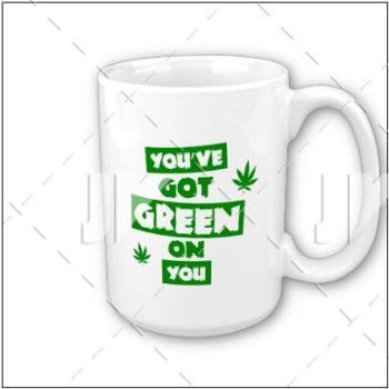 'you've got red on you' parody stoner mug by JaneVision