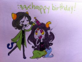 HAPPY BIRTHDAY FEF by Nepeta-Leijon