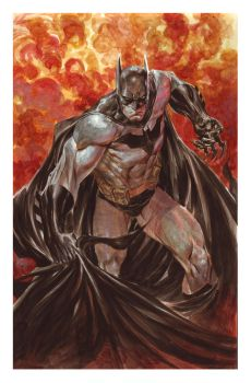 Batman Fire by ardian-syaf
