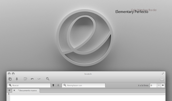 Elementary Perfecto (Elementary OS borders) by rhoconlinux