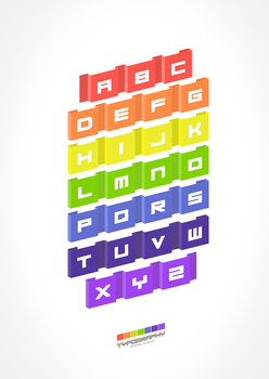 Typography (white) by pixel-junglist