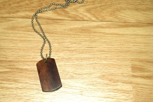 Iron Wood Dog Tag by Vikingjack