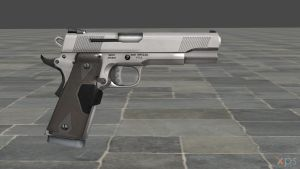 XNALara Release: Smith and Wesson Handgun model by Aequitas-Imperator