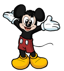 Mickey Mouse by Cartcoon