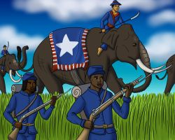 Commission - March to Gettysburg by TyrannoNinja
