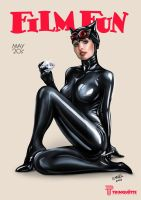 Catwoman for Trinquette by ismaelArt