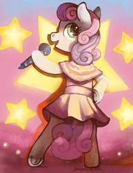 Sweetie Belle Commission for Sidotsy by spectralunicorn