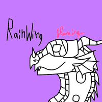 RainWing Base by FlamingGatorGirl