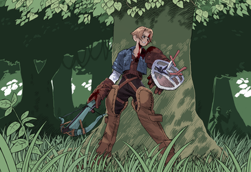 FFT - Archer (Ma) by Scribblehatch