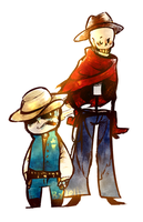 Westale-papyrus and sans by PCJelly