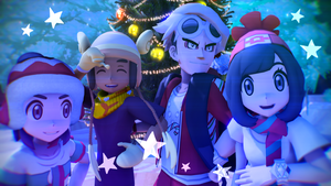 [MMD] Pokemon- Timber (Christmas Special!) by Gameaddict1234