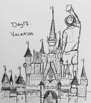 Day 17: Vacation  by Kindii