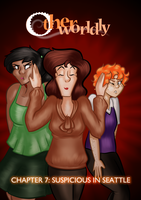 Otherworldly Ch. 7 Title Page by BeckHop