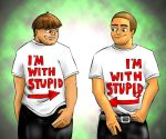 HP: I'm with Stupid by GemmaDuffill