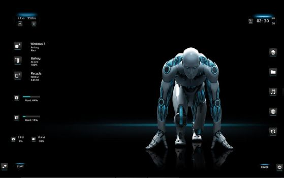 :: ROBOT :: by DarkEagle2011
