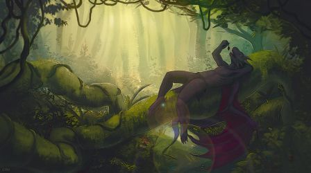 ... in the jungle by etrii