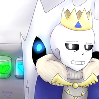 King Sans (Storyshift) by Akecai
