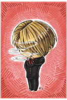 Chibi Red-shirt Sanji by AnimeGirlMika