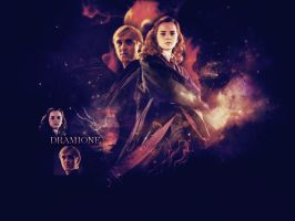 . dramione wallpaper . by ImprintedVampire