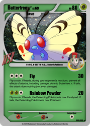 Butterfree C - Card by Pokemon-Mento