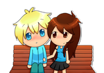 Butters and Lauren by Drawn-Mario