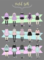 (CLOSED) CASUAL Outfit Adopts 03 by Rosariy